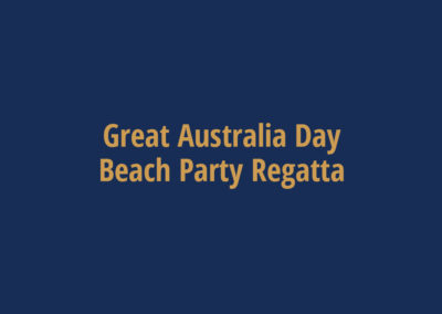 Great Australia Day Beach Party Regatta