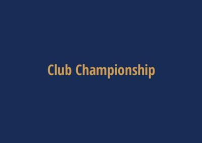 Club Racing