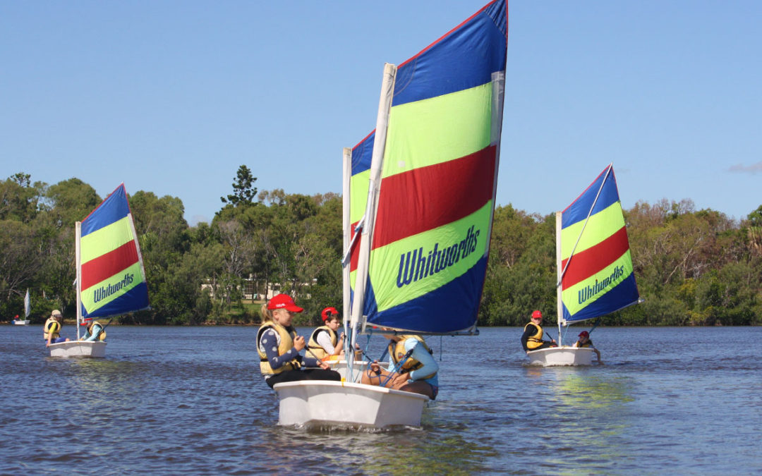 Kids learn to sail at KBSC