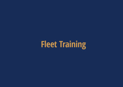 Fleet Training