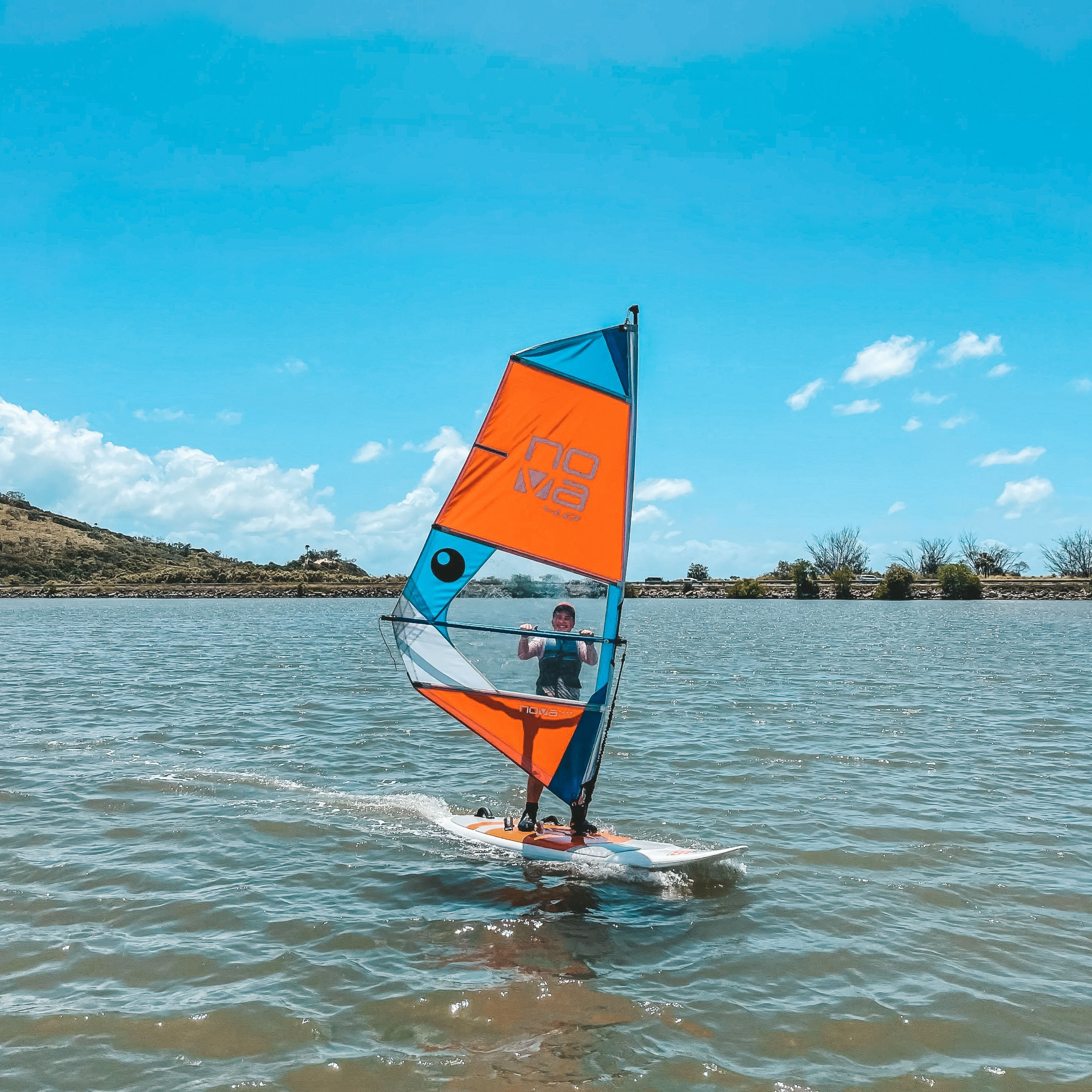 KBSC discover wind surfing